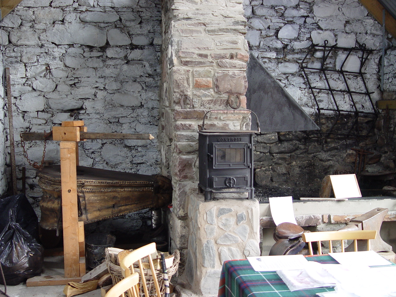 Lochcarron Smithy Heritage Centre When Debbie and Mike Clark were ...
